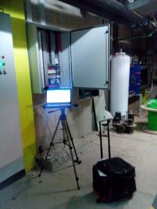Sistema de control de piscinas en el Complejo Deportivo Las Rehoyas