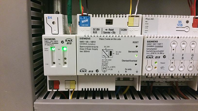 Actuadores KNX Siemens